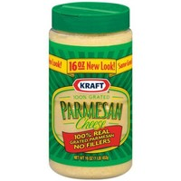 Kraft Grated Cheese: Cheese 100% Real Parmesan, 16 Oz - Walmart.com