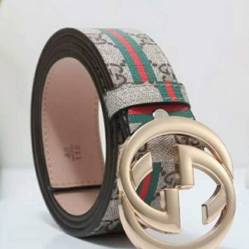 Gucci colorful fashion leather belt