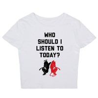 Who Should I Listen To Today?