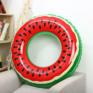 Swimming Ring Watermelon Inflatable Swimming Pool Floats For Adults Kids Children Swimming Circle