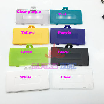 8 Colors To Choose Replacement Battery Cover for Game Boy Pocket Gameboy GBP Battery Door