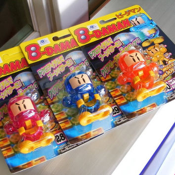 Takara 1994 Hudson Soft B-Daman Bomberman 2 No 28 29 30 Model Kit Action Figure Set
