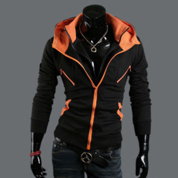 Hoodies Korean Men Slim Jacket [6528746627]