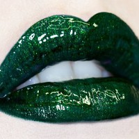 Lime Crime Highly Pigmented Lip Gloss Loaded with Sparkle - Hollygram