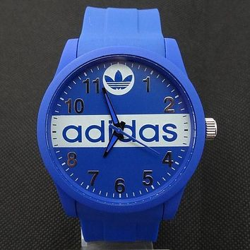 ADIDAS Ladies Trending Men Fashion Quartz Watches Wrist Watch Blue G