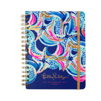 Lilly Pulitzer Large 17 Month Agenda-Ocean Jewels