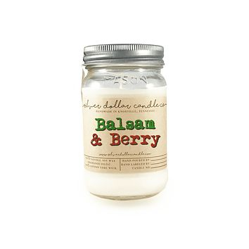 Balsam & Berry - 16oz Soy Candle