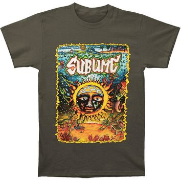 Sublime Men's  Under The Sea Sun Mens Soft T Slim Fit T-shirt Charcoal