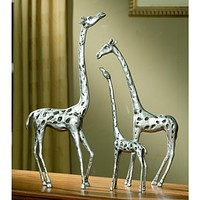 SPI Home Collection Giraffe Family Sculpture