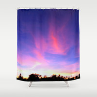 last night by healinglove Shower Curtain by Healinglove art products