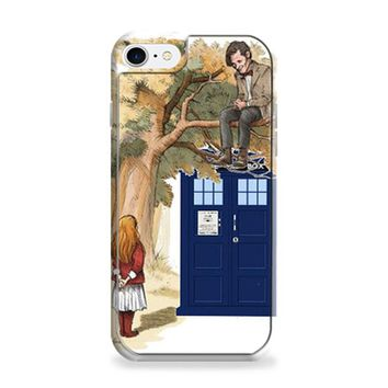 Alice In Wonderland And Tardis Doctor Who iPhone 6 | iPhone 6S Case