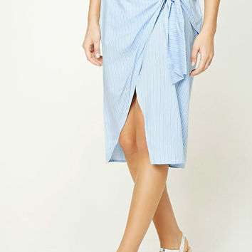 Contemporary Pinstripe Skirt