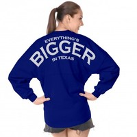 Everything's Bigger in Texas Spirit Football Jersey®