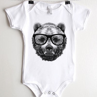 Wise Bear Onesuit