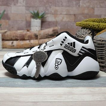 best service 33563 788bb Shop White Adidas Trainers on Wanelo