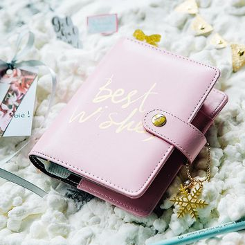 Lovedoki 2017 Winter Firework Notebook Dokibook Personal Day Planner Diary weekly Agenda Organizer Gifts Stationery A5A6A7