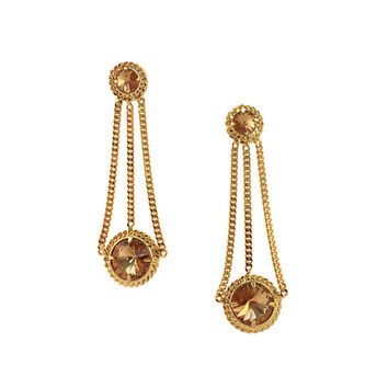 Courtney Lee Collection | Brittany Gold Earrings
