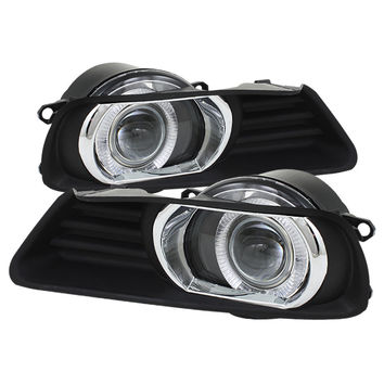Toyota Camry 07-09 Halo Projector Fog Lights - Clear