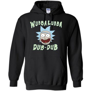 Rick & Morty Wubba Lubba Dub-Dub Drippy Text
