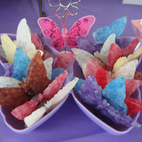 Scented Butterfly Magnets by JaxxCandles on Etsy