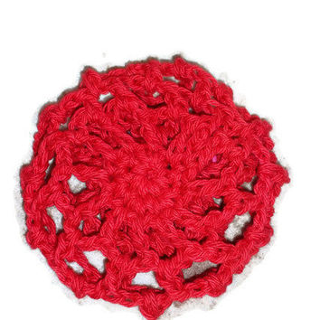 Ballerina Bun Cover Red Secure with Scunci