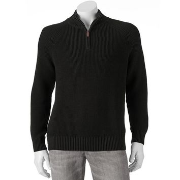 Dockers Shaker Quarter-Zip Sweater