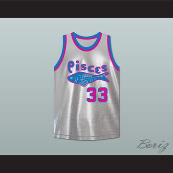 Jackhammer Washington 33 Pittsburgh Pisces Basketball Jersey The Fish That Saved Pittsburgh