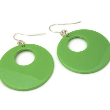e65ffd098a0ac Shop Plastic Hoop Earrings on Wanelo