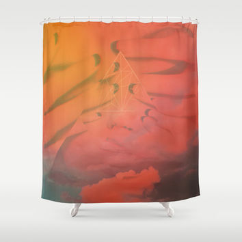 Head in the Clouds Shower Curtain by DuckyB (Brandi)