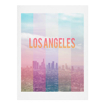 Catherine McDonald Los Angeles Art Print