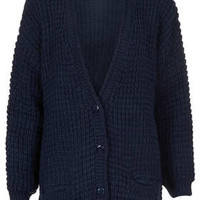 Knitted Textured Stitch Cardi - New In This Week  - New In