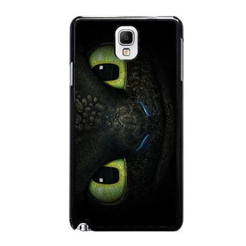 toothless how to train your dragon samsung galaxy note 3 case cover  number 1