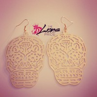 Skull Cutout Earrings