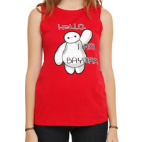 Disney Big Hero 6 I Am Baymax Girls Muscle Top