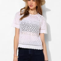 DV By Dolce Vita Frona Eyelet Top - Urban Outfitters