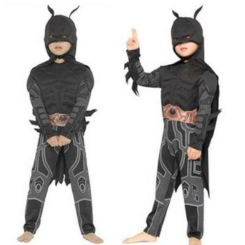 ONETOW M-XL Disfraces Halloween Carnival Batman Costume cosplay Movie Anime Fantasia kids Children The Avengers Cosplay Boys costume