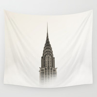 Chrysler Building - NYC Wall Tapestry by Nicklas Gustafsson
