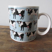 Vintage Cow Coffee Mug