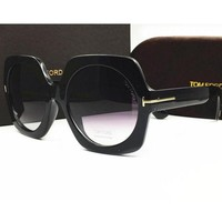 Tom Ford Women's Stylish Hipster High Quality Sunglasses F black