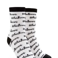 Whatever Crew Socks