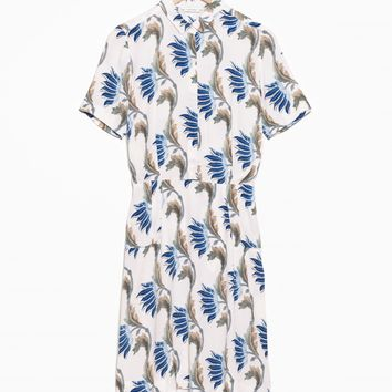 & Other Stories | Water Lily Shirt Dress | Printed