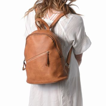 Elle Midi Backpack | Vegan Leather Backpack Purse