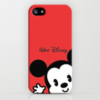 Mickey Mouse Iphone 5 case Hard Plastic FREE by TICKandPICK