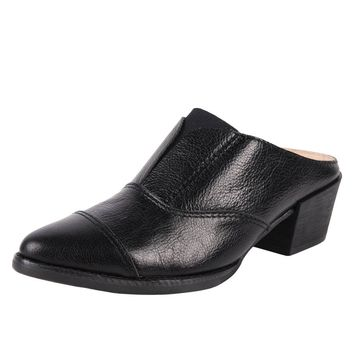 ALL BLACK Cowman-Mule