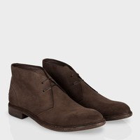 Paul Smith Men's Shoes | Brown Suede Howard Boots