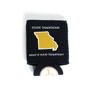 Missouri Columbia Gameday Koozie Black | State Traditions