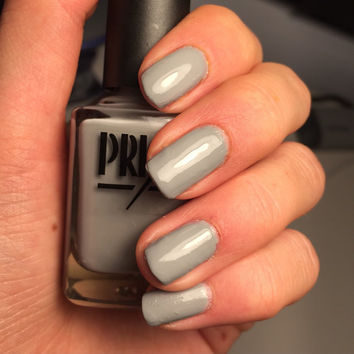 Soot and Tie- Gray Handmade Indie Nail Polish