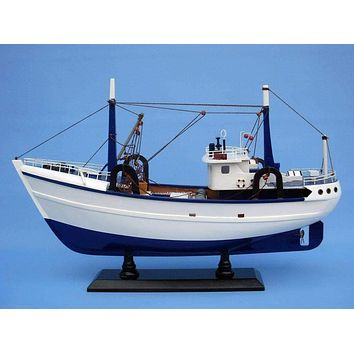 Wooden Calm Seas Model Boat 19""