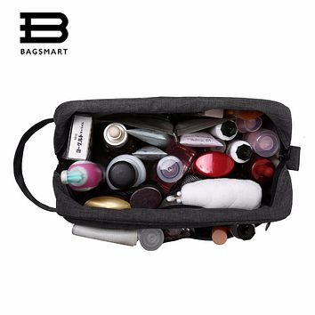 BAGSMART Toiletry Bag For Men and Women (Dopp Kit) Travel Organizer Comestic Bag