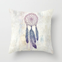 Catching Your Dreams Throw Pillow by Rachel Caldwell | Society6